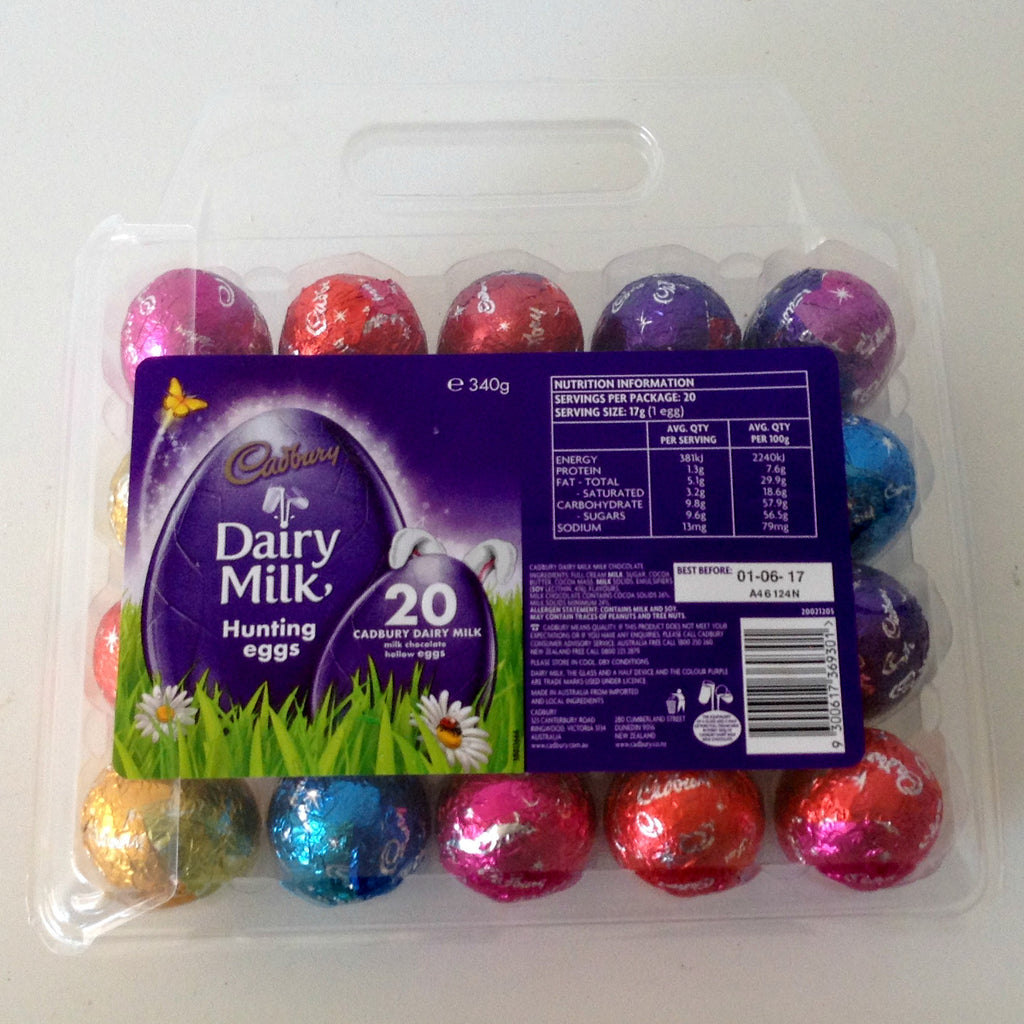 Cadbury Hunting Eggs