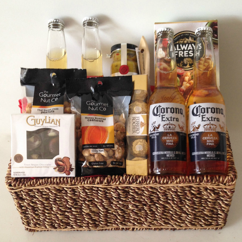 Gentlemans Beer Basket
