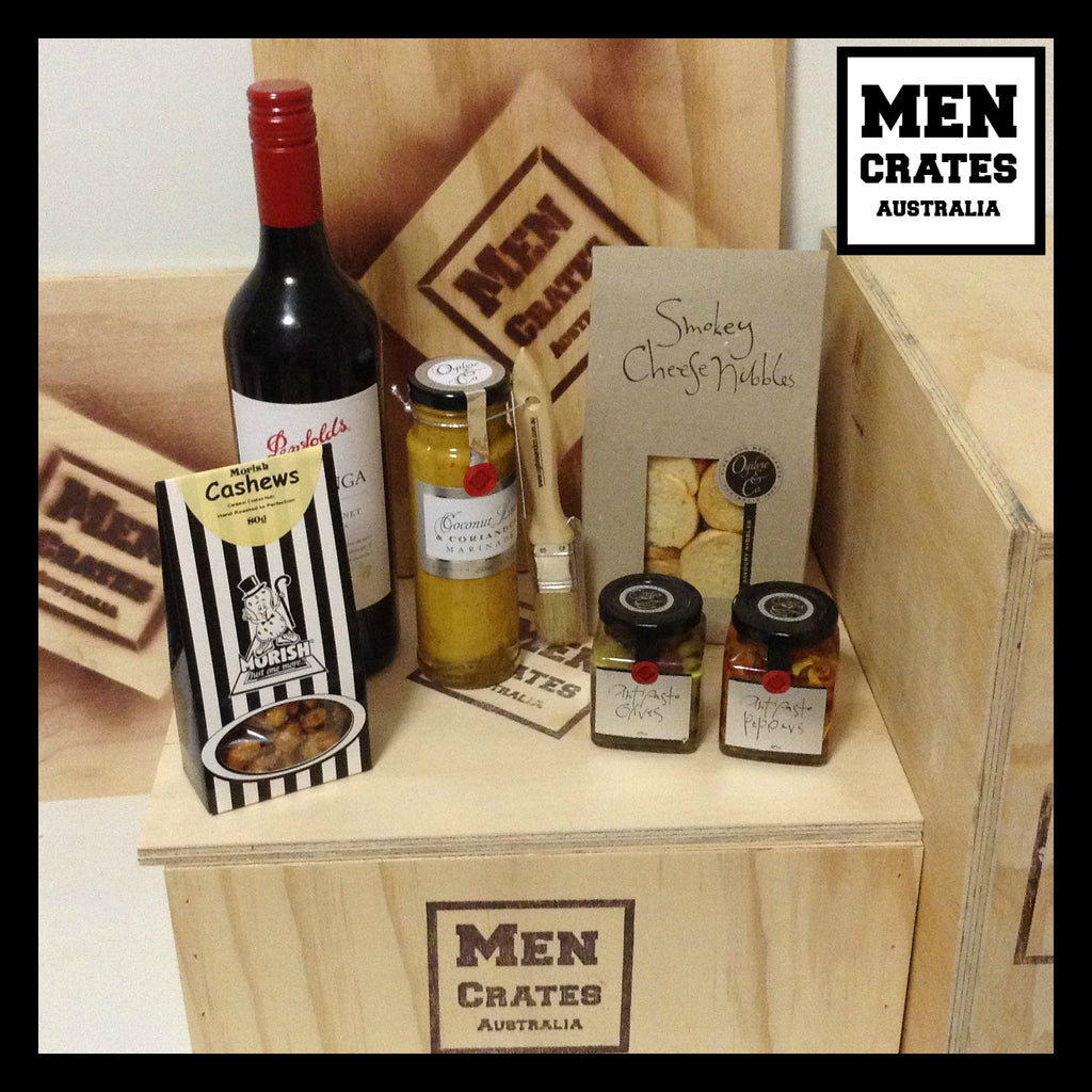 Gourmet & Red Wine Crate