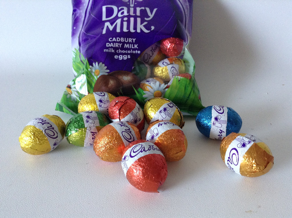Handful of Cadbury Mini Eggs Loose