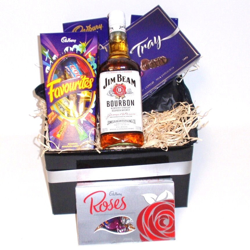 Jim Beam and Chocolate Hamper