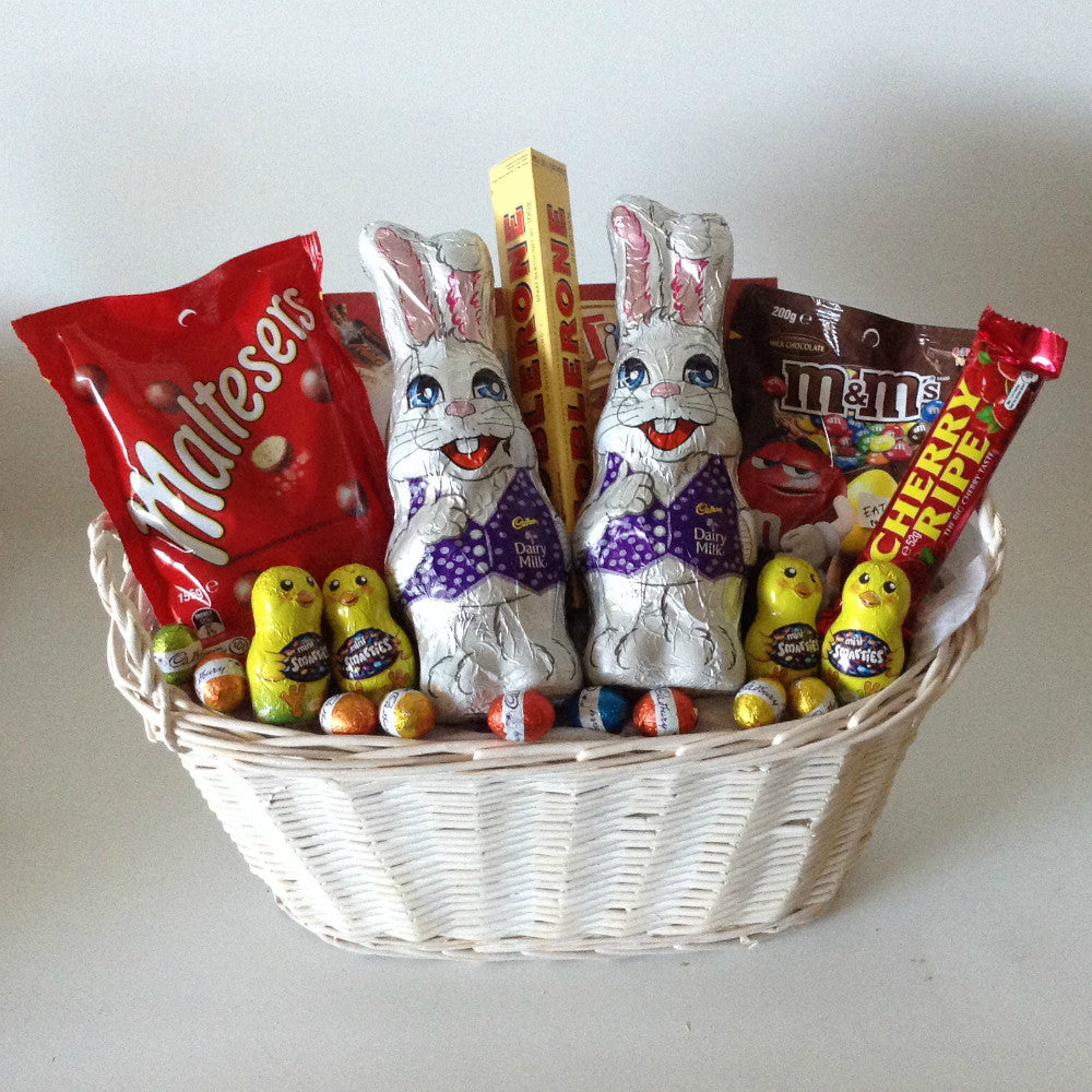 All products easter eggs gift baskets galore perth wa men bubbly easter basket 11000 easter hamper negle Choice Image