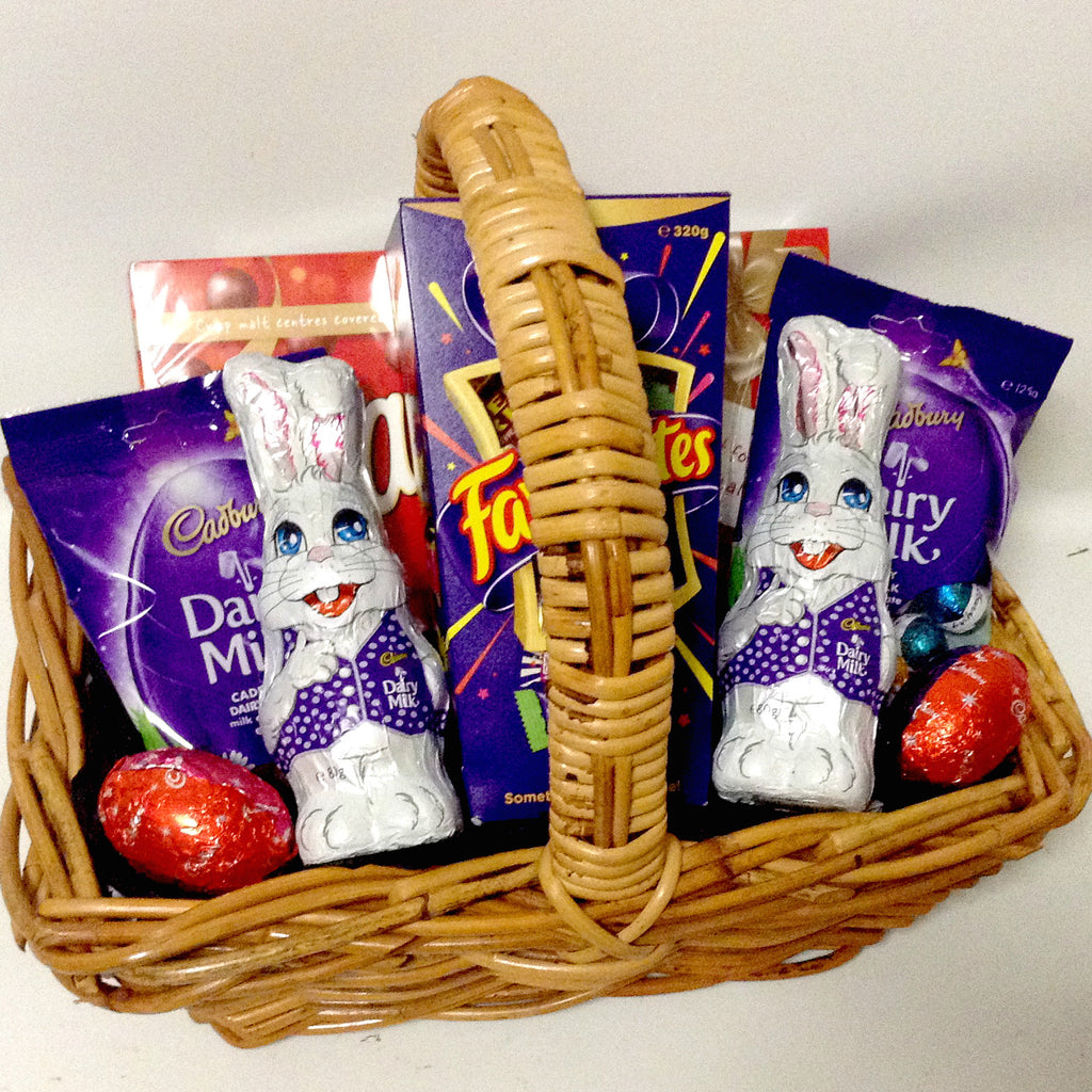 All products cadbury gift baskets galore perth wa men crates chocolate temptation gift box 12000 kids easter basket negle Images