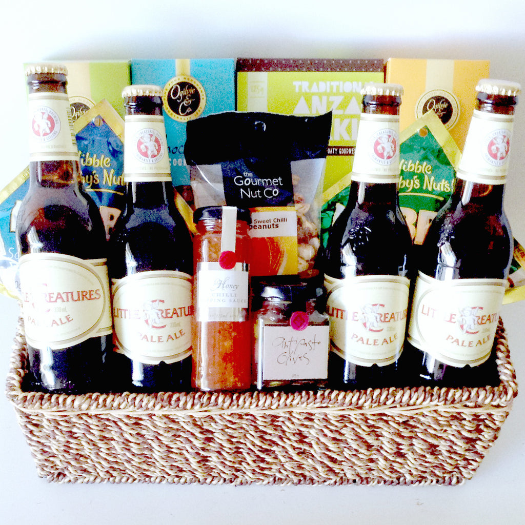 Little Creatures Beer Nibbles Basket