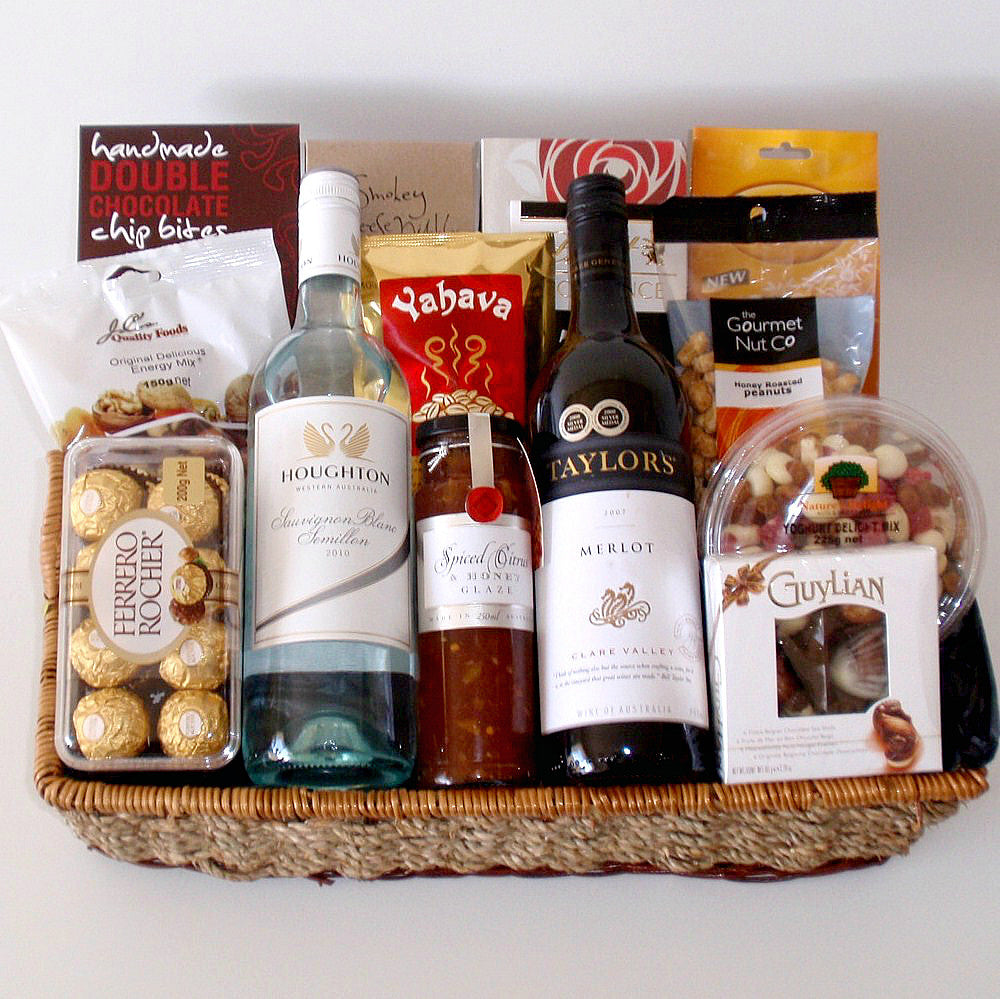 Merlot and SSB Wine Basket
