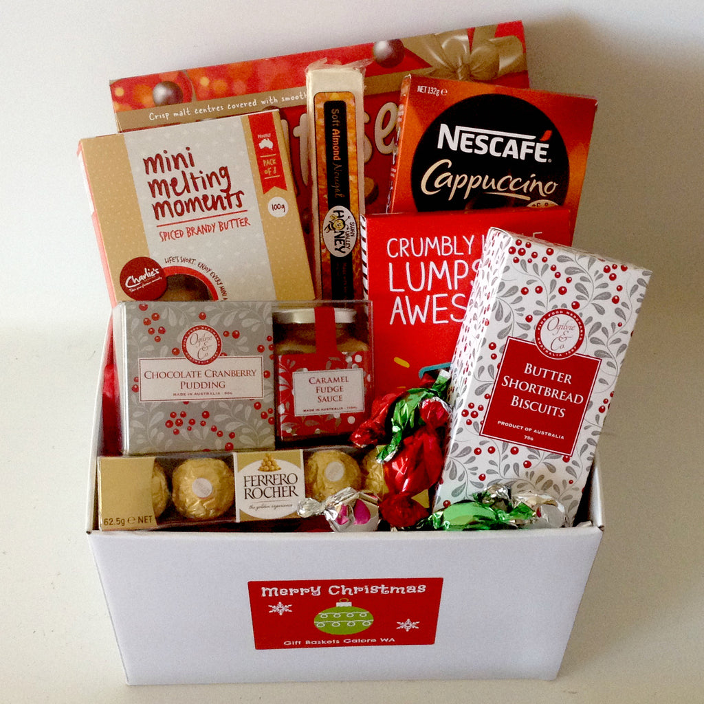 Gift baskets perth gift baskets galore perth wa men crates gift baskets perth a christmas treat non alcholic gift box negle Images
