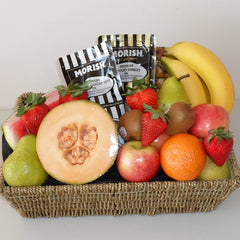Fruit & Morish Nuts Gift Basket