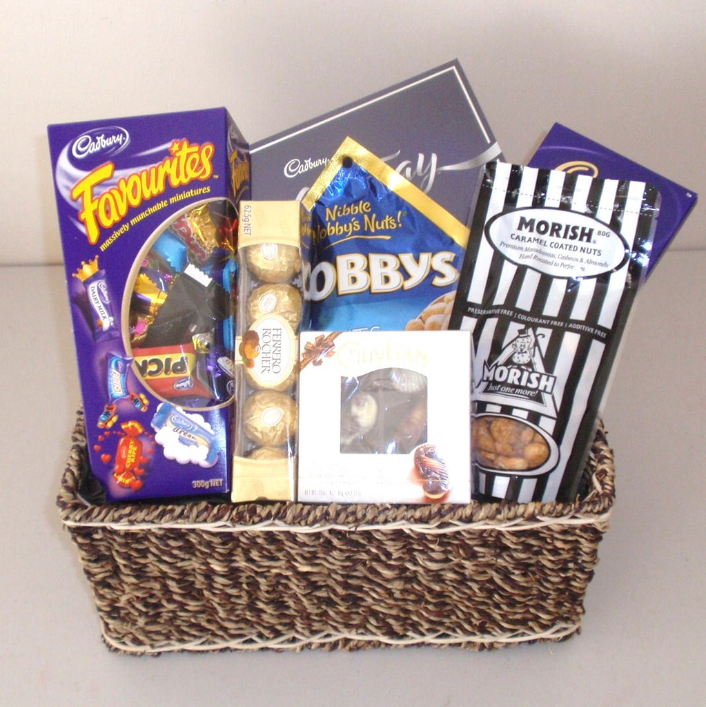 Chocolate & Nuts Gift Basket