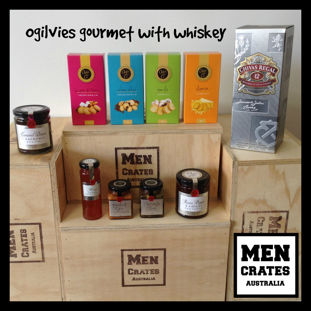 Ogilvies & Whiskey Crate