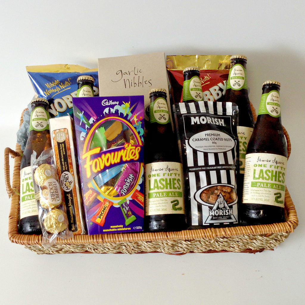 One Fifty Lashes Beer Basket