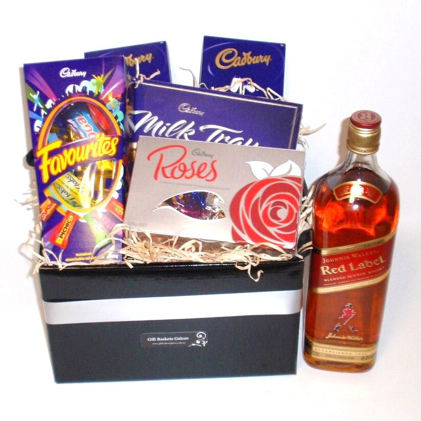 Red Label Chocolate Basket
