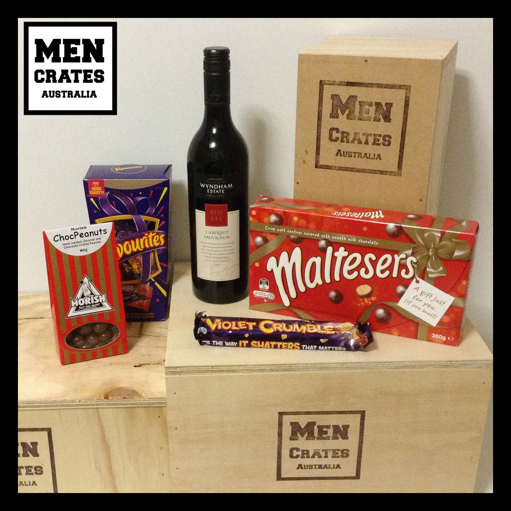 Red Wine & Chocolate Crate