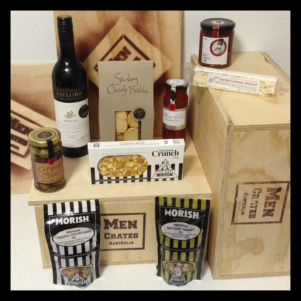 Red Wine Gourmet Crate