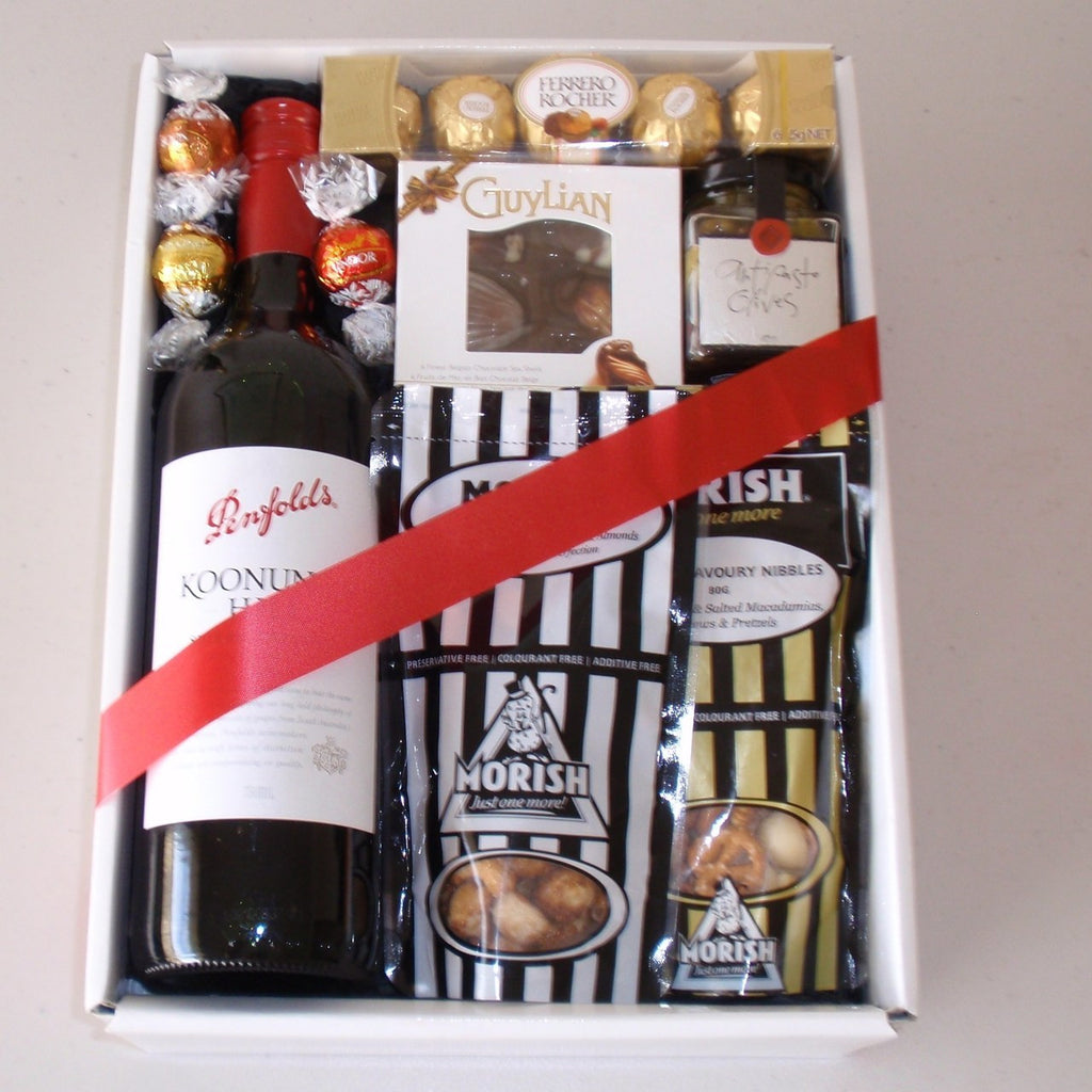Red Wine and Nibbles Gift Box
