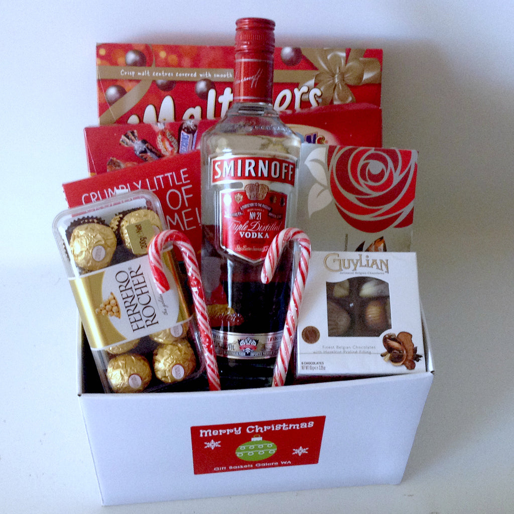 Christmas Vodka & Choc