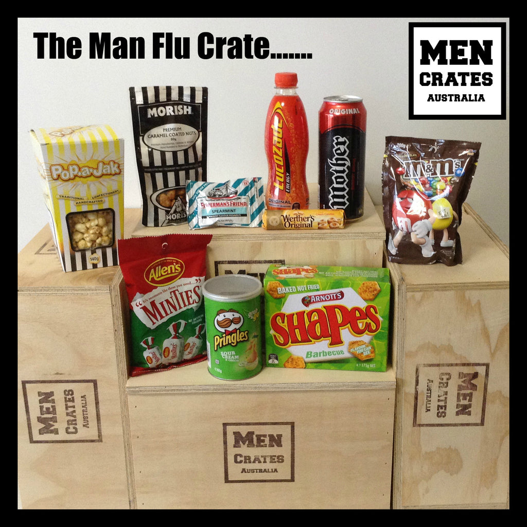 Man Flu Crate