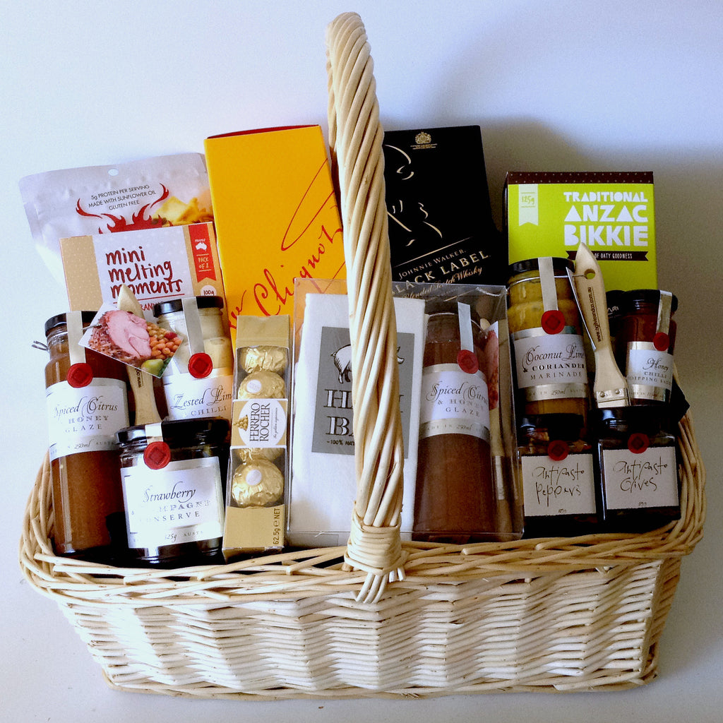 Black Label & Veuve Champagne Basket