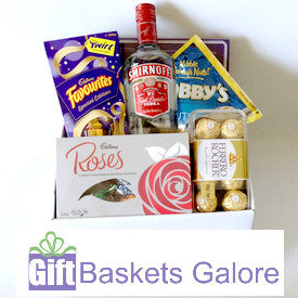 Vodka, Chocolate & Nuts Gift Box