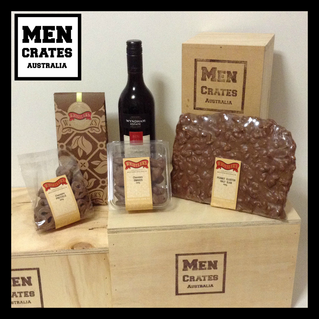 Whistlers & Red Wine Crate