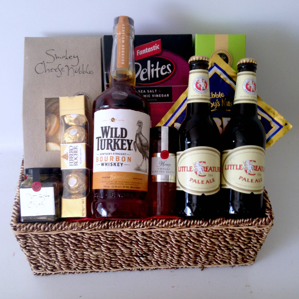 Wild Turkey & Beer Hamper