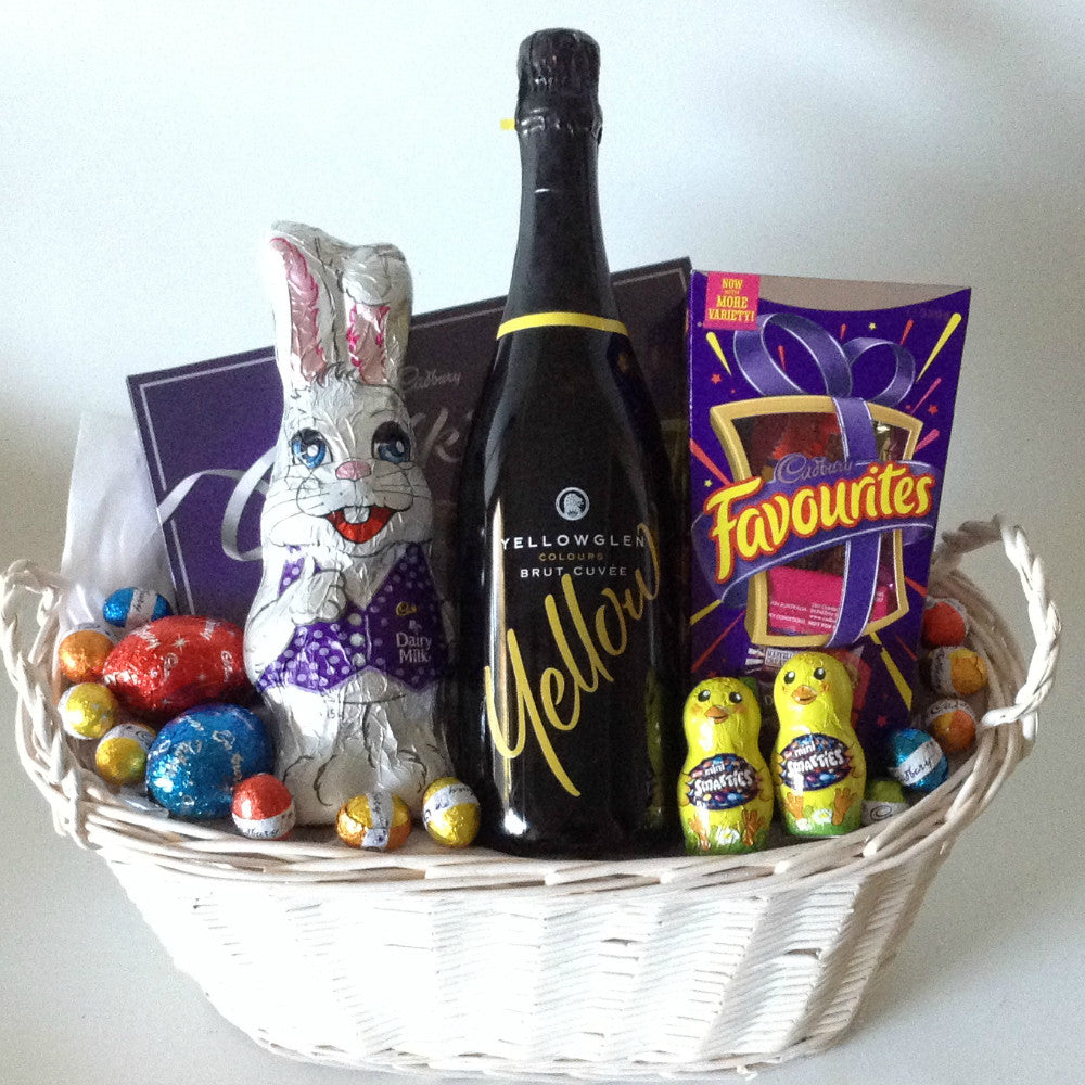 Bubbly easter basket gift baskets galore perth wa men crates bubbly easter basket negle Image collections