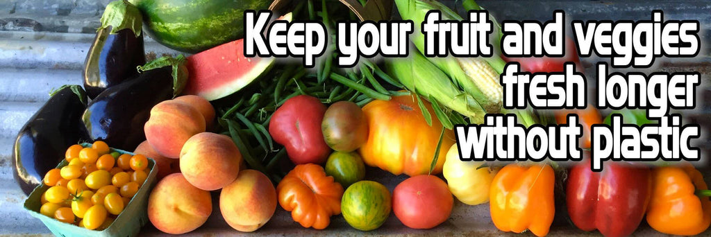 50 Tips To Store Fruit and Vegetables - (Without Plastic)