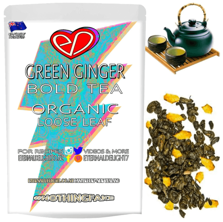 Green Ginger Tea - Eternal Delight