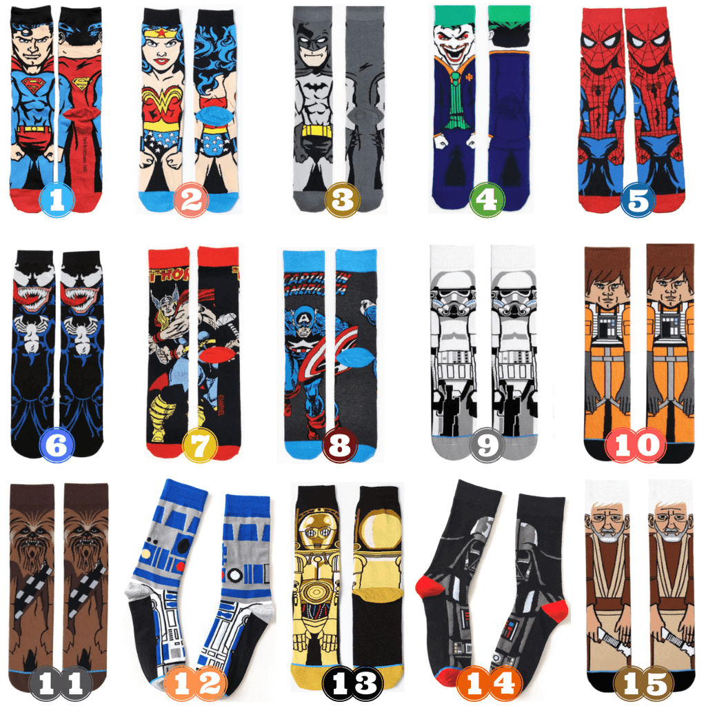 His and Her Fashion Shop. Happy Socks. Good Gift. All-Time Super Heros. Hip Man Love. Urban Women. Best Comic Design. Custom Clothing Sale. Fun Street Style.