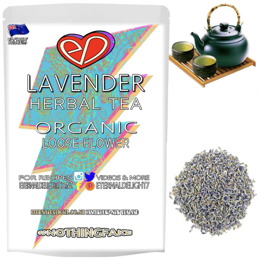 Organic Lavender Flowers Make for a Fragrant Beauty and Relaxation Tea that has an Aromatic and Sensual Scent, Chased with an Uniquely Botanical Flavour.