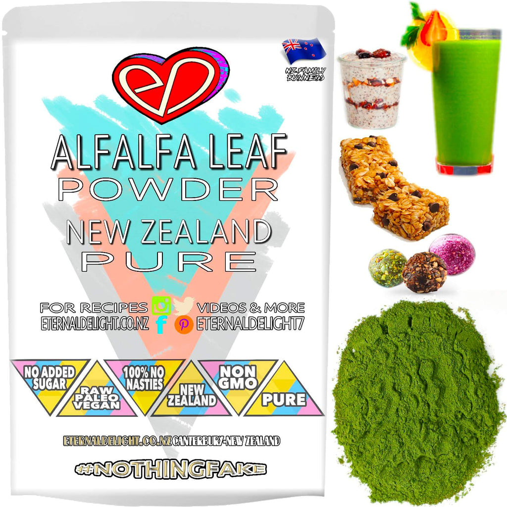 Shop New Zealand Alfalfa Leaf Powder. A Natural Source of Energy at 150KJ Per Serve. Contributes to Weight Loss and Building Your Immune System. Buy $3.99.