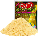 Raw Organic Ashwagandha Root Powder, Aka Indian Ginseng is a Very Special Ayurvedic Herb that Holistically Nourishes a Natural Feeling of Best Wellbeing.