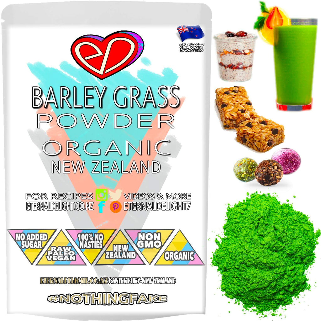 Shop Organic New Zealand Barley Grass Powder. A Rich Super-Green Whole-Food that Contributes to Normal Metabolism and Weight Loss. Vitality Buy $3.99.