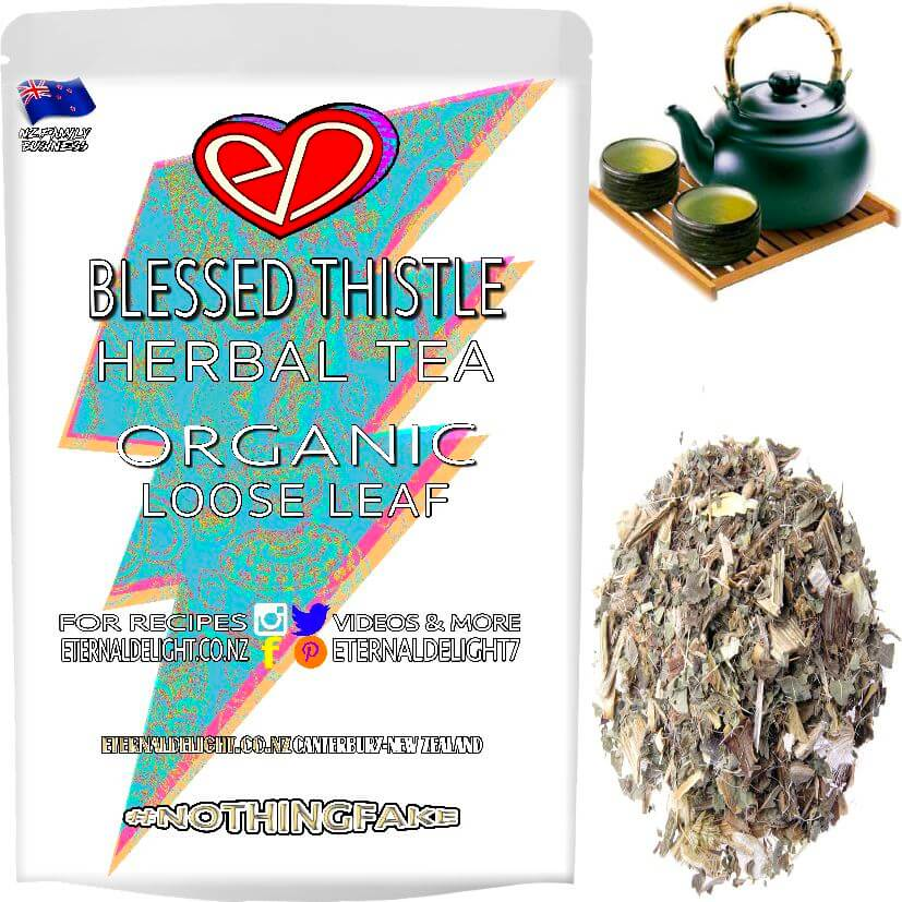 Shop Organic Blessed Thistle. Can Be Holistically Applied Externally as a Super-Herb Poultice or Enjoyed as a Herbal Loose Leaf Tea. Buy and Save $3.99.
