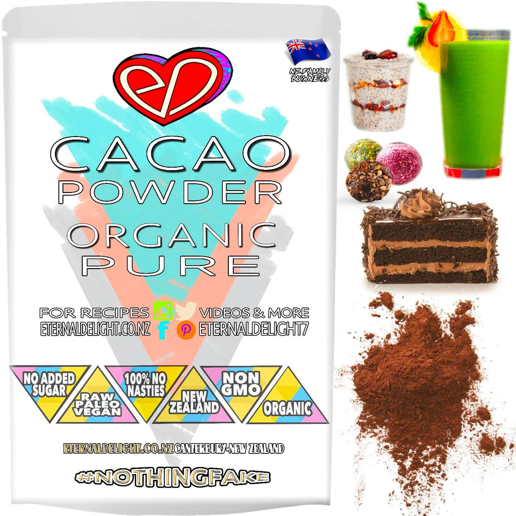 Raw Peruvian Cacao Powder is Delightfully Nourishing and Great for the Wellness Conscious. Enjoy the Organic Aroma and Delicious Chocolate Flavour.