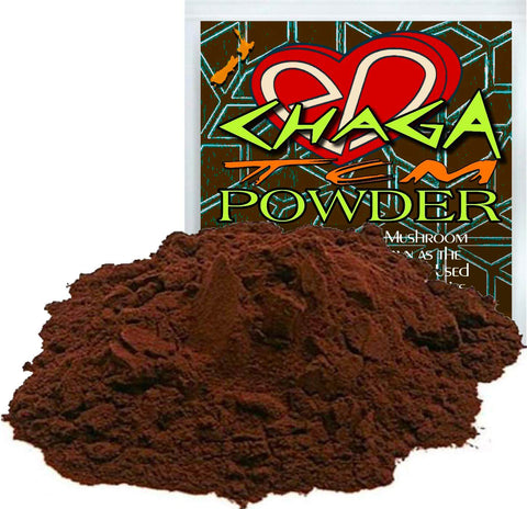 Wildcrafted Chaga Mushroom Powder is Well Known as the King of Herbs & Has Been Used for Thousands of Years for its Amazing Natural Wellness Effects.