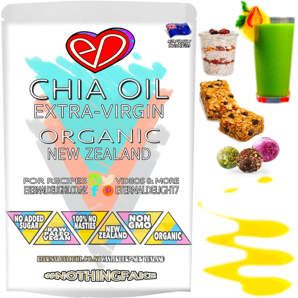 Shop New Zealand's Best Organic Chia Seed Oil. Cold-Processed and Rich in Flavour. Try as an Extra-Virgin Body Oil. A Real-Food Power House. Buy $4.99.