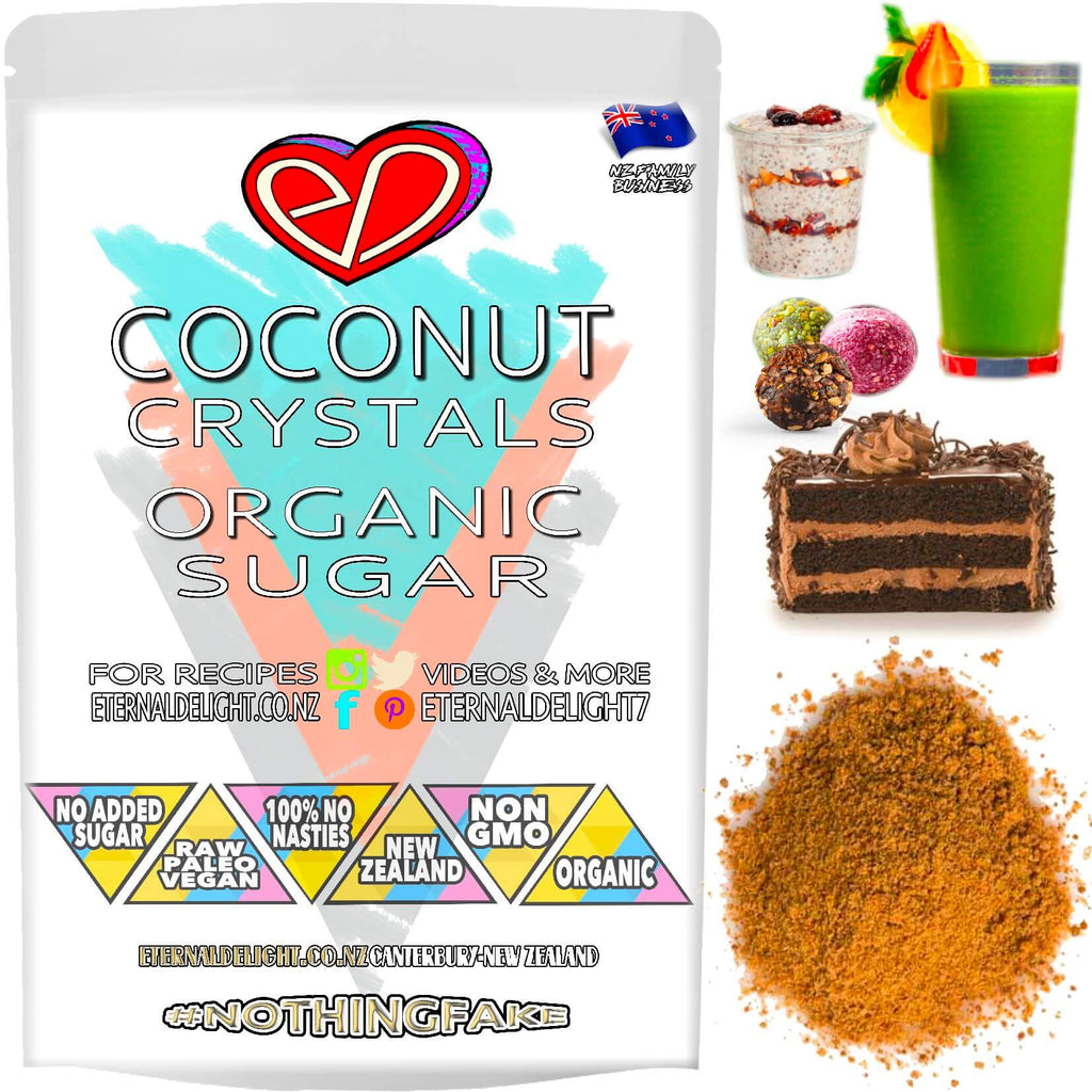 Shop Organic Coconut Sugar🥥Honest Flavour. Caramelised Crystals🎂Wholesome Sweetener🧘🏼‍♂️Vegan Honey. Best Wellbeing. Culinary Asset🇳🇿Buy NZ $3.99.