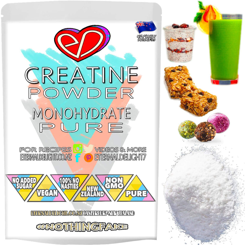 100% No Nasties and Purely Plant-Based Creatine Monohydrate is a Super Beneficial Vegan Sports Powder to Nourish Peak Performance and Endurance Capacity.