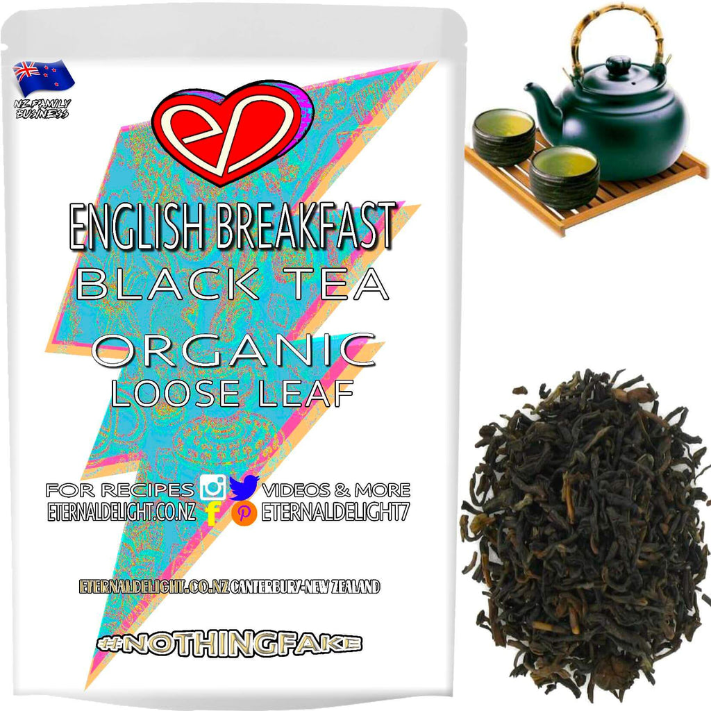 Shop Organic Loose Leaf English Breakfast. A Classically Strong Blend of Full-Bodied Black Tea that Naturally Boosts the Senses. Buy $3.99. Fast Shipping.