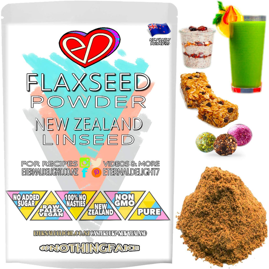 New Zealand Linseed is Also Known as Flaxseed. A Canterbury Grown Gluten Free Flour and a Real-Food Wellness Powder Rich in Fantastic Plant-Based Protein.