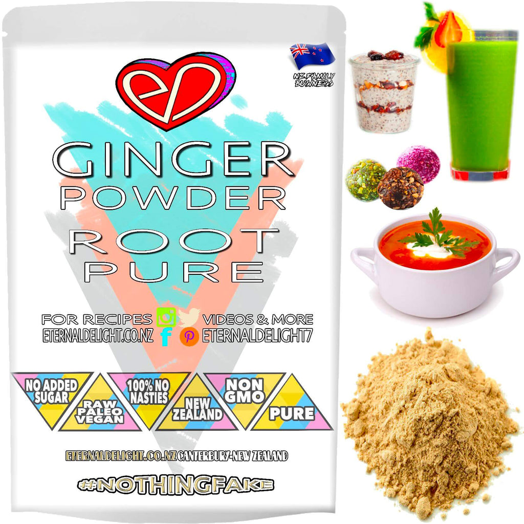 Shop Premium Ginger Powder. A Raw Culinary Spice. Used as a Herbal Remedy in India. Nourish Best Vitality and Holistic Wellness. A Wholesome Buy NZ $3.99.