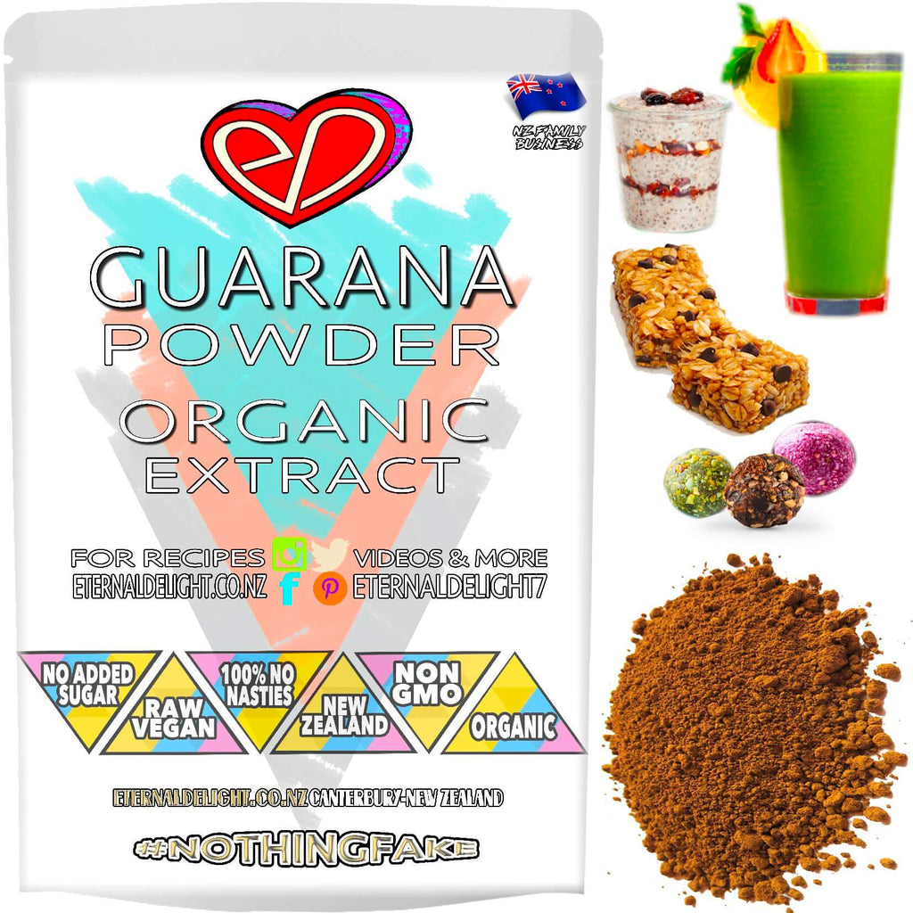 Shop Organic Guarana Berry Extract Powder. Are You Looking for an Edge Over the Competition? Nourish Sports Performance and Wellness Goals. Great Buy $3.99.