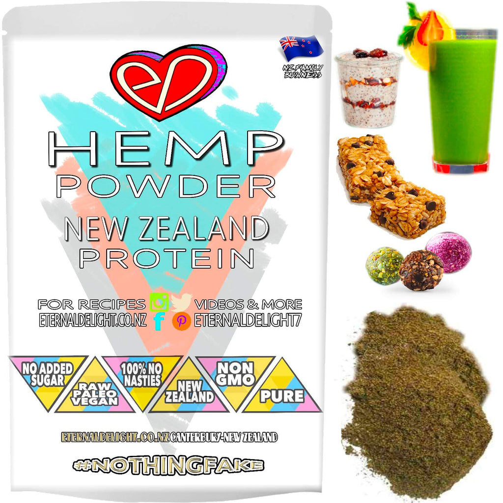 Hemp Seed Protein Powder - (New Zealand)