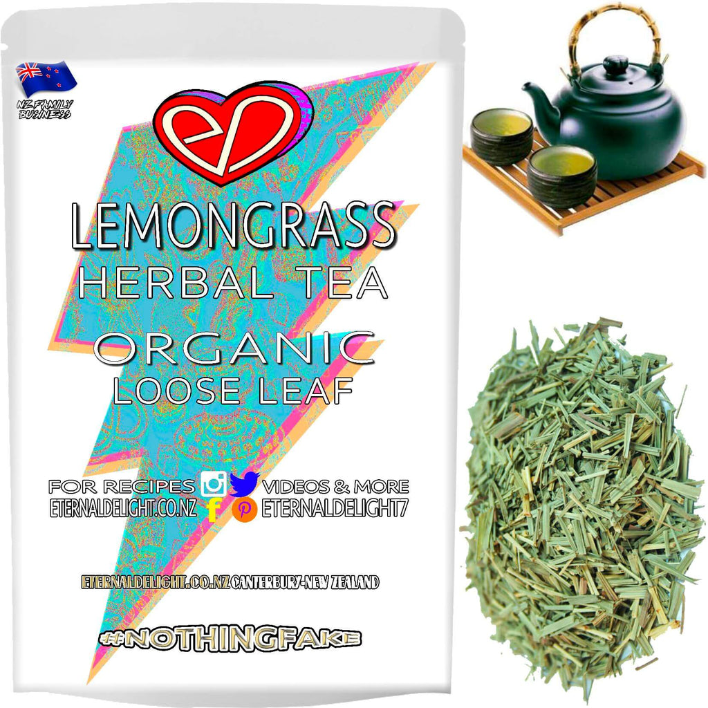 Citrusy Organic Lemongrass is a Refreshing Herbal Tea and Makes for a Flavourful Aromatic Tonic that Blends Well in Gourmet and Holistic, Real-Food Cuisine.
