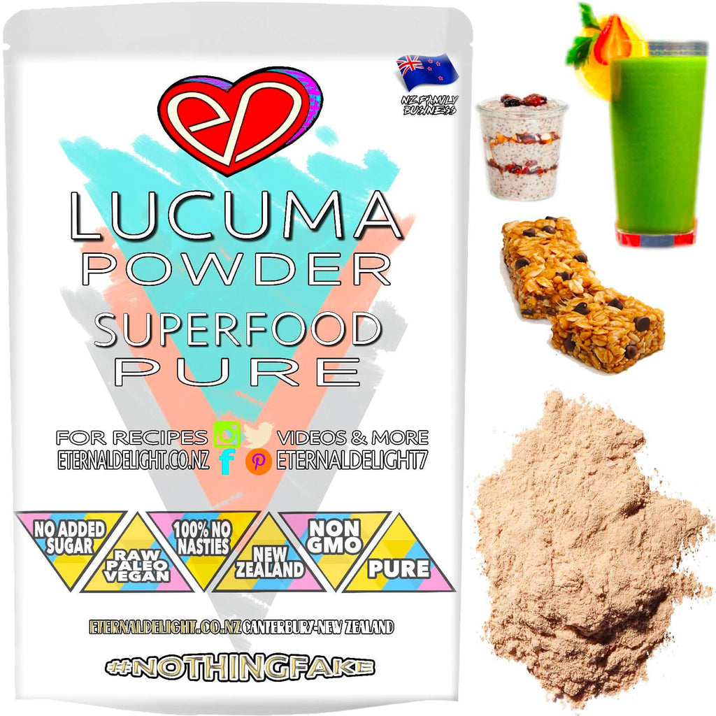 Lucuma Powder Has a Maple Like Flavour and Makes For a Yummy Peruvian Experience When Added to Your Favourite Superfood Smoothie, Ice Cream or Desserts.