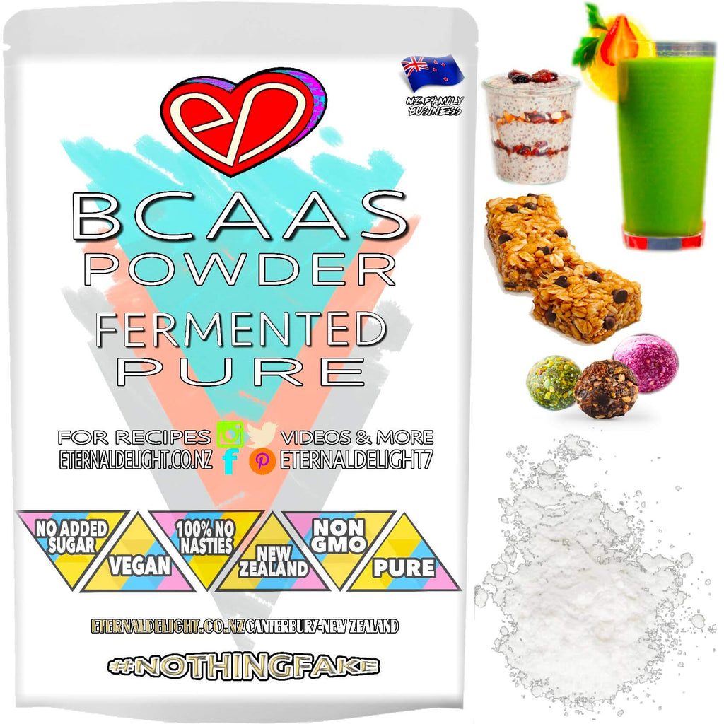 Nourish Wellbeing and Maintain an Active Lifestyle with Fermented Vegan BCAAs Powder and Holistically Support Sports Wellness, During Intense Exercise.
