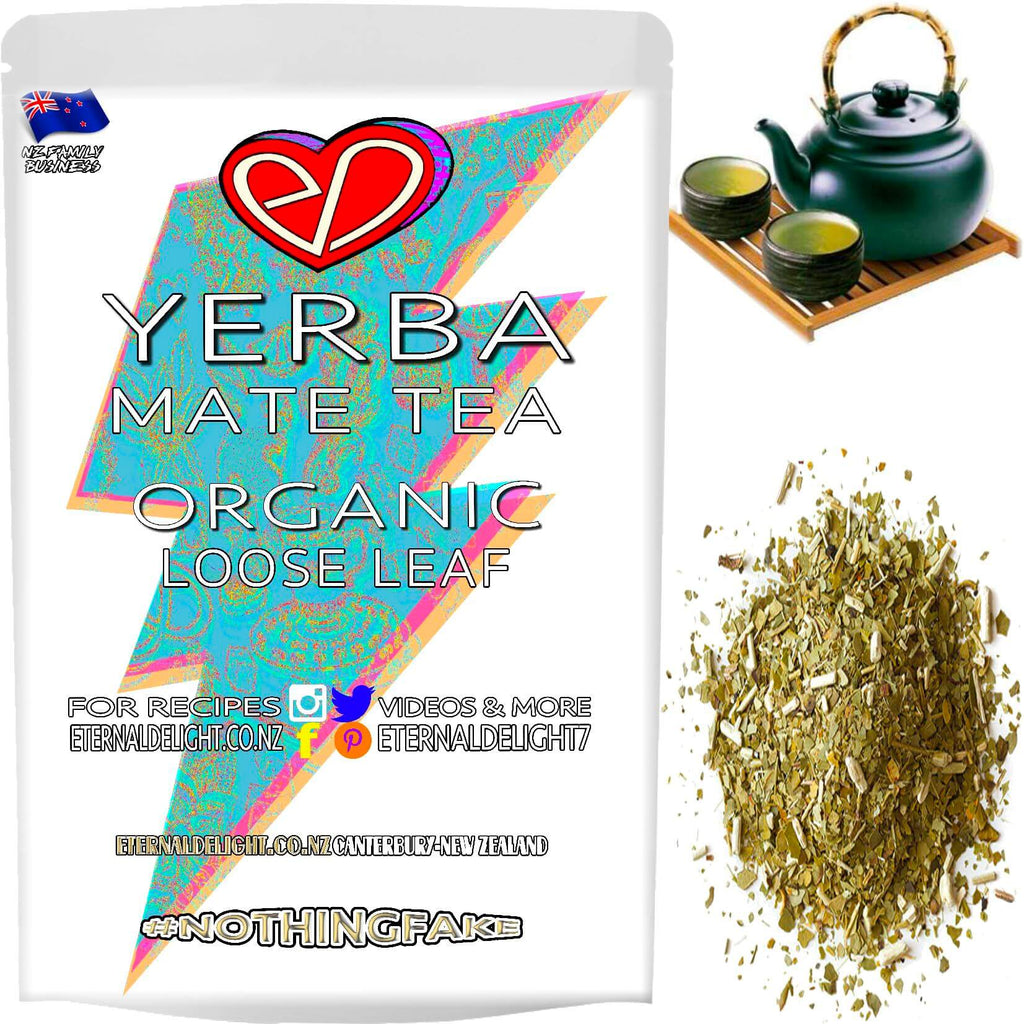 Organic Yerba Mate is a Smooth South American Tea that Holistically Nourishes Stamina and is Perfect for Athletes, Plus the Fitness and Wellness Conscious.