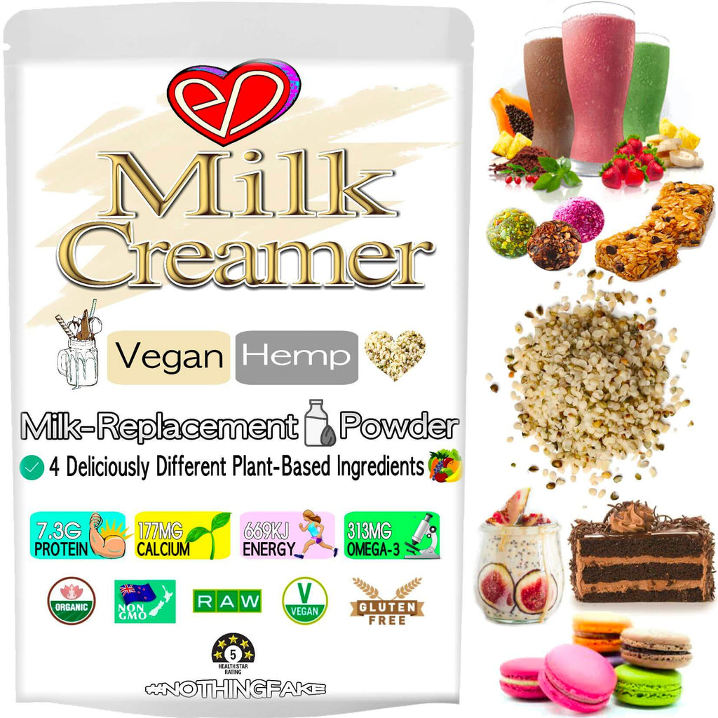 Health Shop❤️Velvety Hemp Milk🥛Clean Energy. Paleo🌱Vegan Creamer🧘🏼‍♀️Strong Bones⭐️Raw Calcium😋Dairy Free Powder⭐️Immune Health. Buy NZ $4.49🇳🇿
