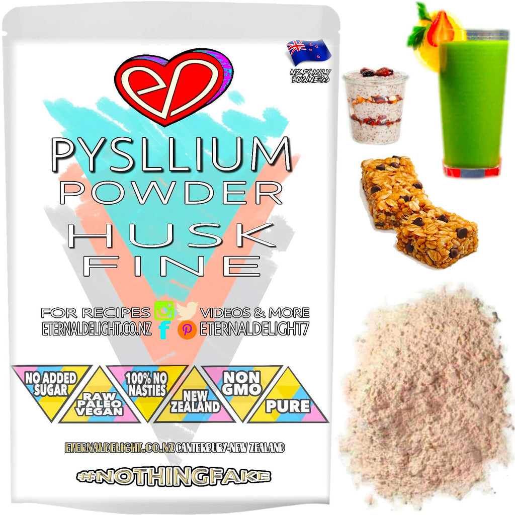 Psyllium Husk Seed Powder is a Whole Fibre-Food that Can Assist a Feeling of Fullness and Goes Great with Raw Culinary Creations, Such as Cheesecakes.