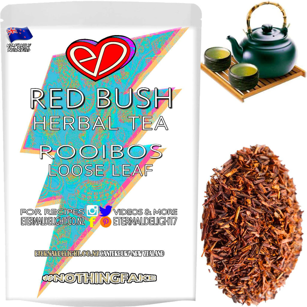 Red Bush is a Delicious and Popular Herbal Tea Among the Fit and Wellbeing Conscious. Rooibos is a Great Wellness Alternative to Coffee, Black and Green Tea.